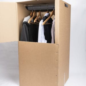 carton penderie rangement déménagement