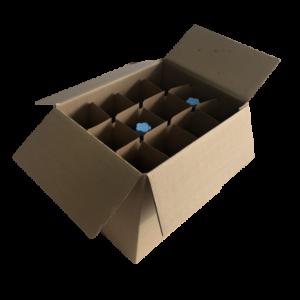 croisillons bouteilles 12 alvéoles protection déménagement