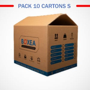pack 10 cartons small déménagement