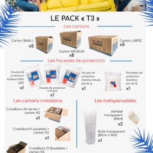 pack déménagement T3 F3 maison appartement