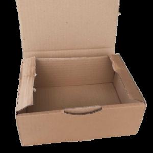 boite poste brune 20cm déménagement
